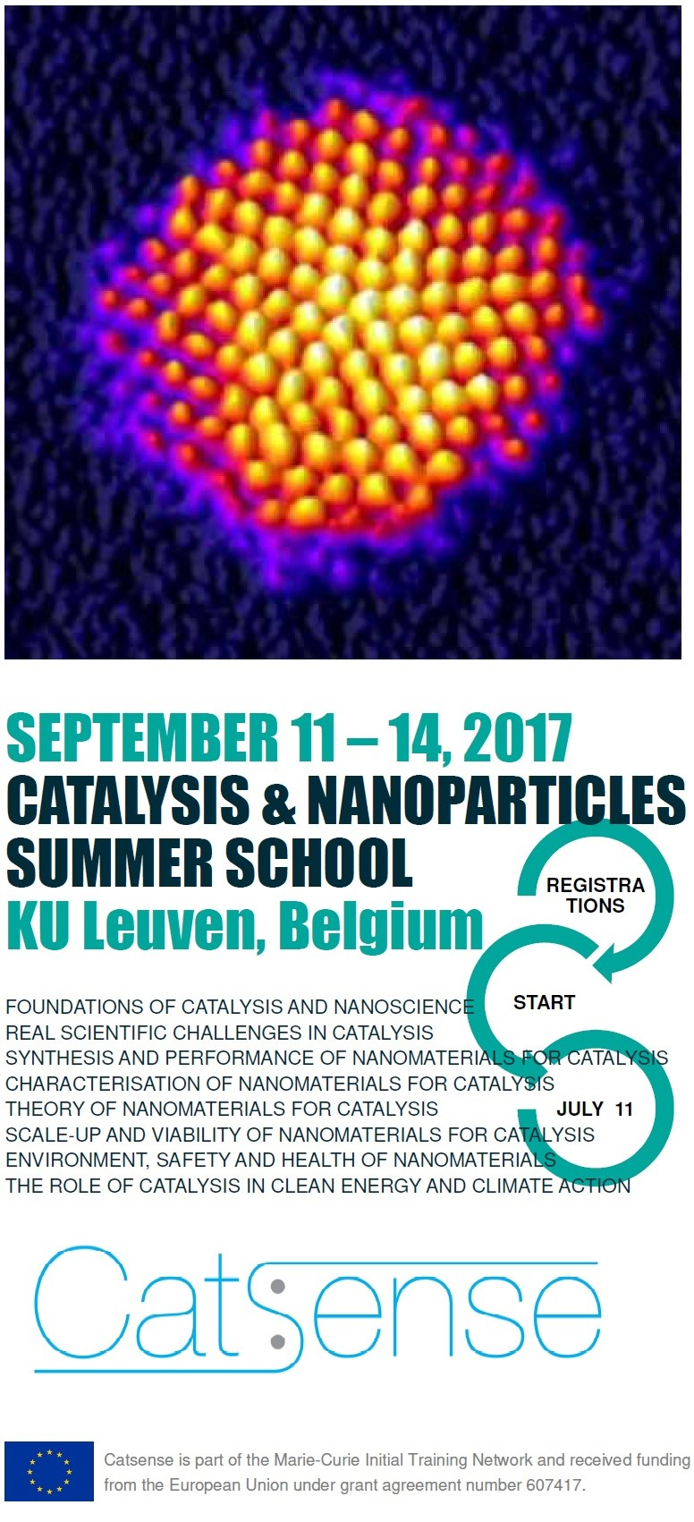 First Announcement Summer School on Catalysis and Nanoparticles
